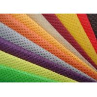 Wholesale Green Orange Blue Needle Punching Non Woven Fabric Rolls CE ISO9001 Certificated from china suppliers