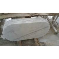 Wholesale Marble Table Top Guangxi White Marble Oval Table Tops China Carrara Marble Table Tops from china suppliers