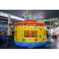 Wholesale Custom inflatable outdoor toys bounce castle Cake With Jumping house For Kids from china suppliers