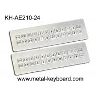 Wholesale Vandal resistant Industrial Metal Keyboard , IP65 ss keyboard Water proof long life from china suppliers