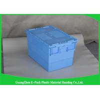Wholesale Commercial Distribution Plastic Attached Lid Containers For Transportation And Logistics from china suppliers