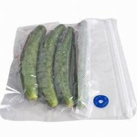 Wholesale Plastic Transparent Frozen Fish Vacuum Packaging Bags For Many Fresh Food Products from china suppliers
