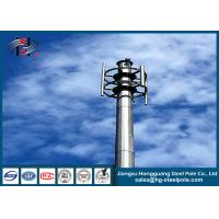 Wholesale Insert Connection Round Conial Galvanized Telecommunication Towers for Broadcasting from china suppliers