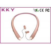 Wholesale Neckband Bluetooth Headphones Waterproof With Retractile / Foldable Earbuds from china suppliers