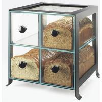 Wholesale Countertop 4 Drawers Acrylic Display Case , PMMA Bread Display Shelves from china suppliers