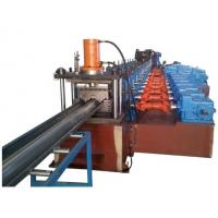 Wholesale 2 Waves Highway Guardrail Roll Forming Machine Drived By 13 sets High Strengthen Rollers from china suppliers