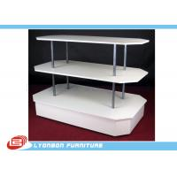 Buy cheap Three Plates Metal Tube Wooden Kiosk from wholesalers