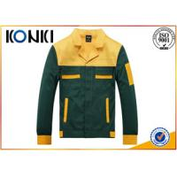 Wholesale Polyester / Cotton Custom Work Uniform Jackets , Printed Scrub Tops from china suppliers