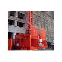 Wholesale 1000 kg Single or Twin Cage Building Site Hoist With Lifting Speed 23.5 m / min from china suppliers