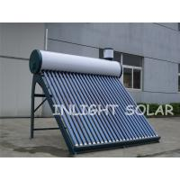 Wholesale Integrated Non Pressurized Solar Water Heater with Vacuum Tube Thermo from china suppliers