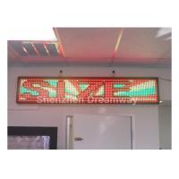 Wholesale Indoor LED Moving Message Display from china suppliers