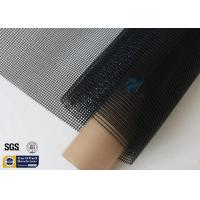 Wholesale Black PTFE Coated Fiberglass Mesh Fabric 580GSM 4M Wide Conveyor Belt Sealing from china suppliers