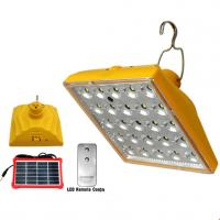 Quality New solar remote control lamp  camping light multifunction emergency light for sale