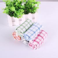 Wholesale Kitchen Yarn Dyed Towels Stripes Printed Tea Towels With Colorful Checkered For Dry Pot from china suppliers