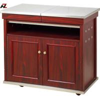 Wholesale Restaurant Kitchen Cart Island with Stainless Steel Top Shelf from china suppliers
