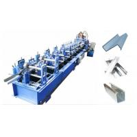 China Cold Steel Strip C Z Purlin Roll Forming Machine / Cold Bending Machine 18m Every Min on sale