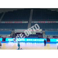 Quality Fast Shipping Full Color Indoor P4 Stadium LED Display SAGEOPTO Delivery 1R1G1B Basketball LED Display for sale