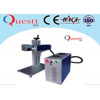 Wholesale Portable Laser Marking Machine For Bangle , Air Cooling Desktop Engraving Machine from china suppliers