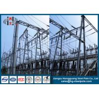 Buy cheap Q235 Steel Electric Transmission Tower Anti - Rust For Substation , 10~500KV from wholesalers