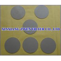 Wholesale Titanium Powder Filter Disc from china suppliers