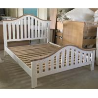 Wholesale Simple Modern Bedroom Furniture Curved Wooden Bed Frames With Headboard from china suppliers