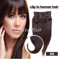 Wholesale Smooth Soft Pre Bonded Dip Dye Hair Extensions / Dark Brown Virgin Hair from china suppliers