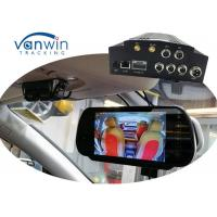 Wholesale Mobile NVR with 4 channels 3G GPS WIFI MDVR HDD Storage, Vehicle Security cameras system from china suppliers