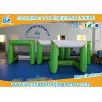 Wholesale 3*1.5*1.5M 0.6mm PVC Inflatable Sport Games Inflatable Soccer Gate Green White from china suppliers