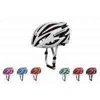 Wholesale PC EPS Inmold Lightweight Adult Bicycle Helmet With Custom Offset Printing from china suppliers