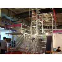 Wholesale Portable 16M Durable Stairway Aluminium Scaffolding / mobile scaffold from china suppliers