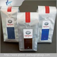 Wholesale Customized Stand Up Plastic Pouches , Side Gusset Coffee Packaging Bags from china suppliers