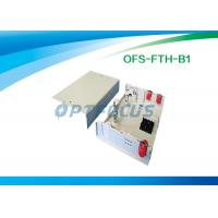 Wholesale Network Termination Box Fiber Optic Pigtails Metal 2 Ports Wall Mounted from china suppliers