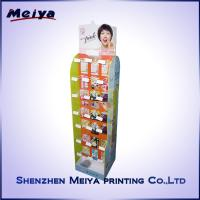 Wholesale Double Side Girls Lipstick Hook Display Stand , Cardboard hook display rack Printed from china suppliers