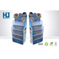 Wholesale Beautiful promotional corrugated cardboard display stand for cosmetic from china suppliers