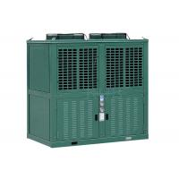 China R404a Low Temperature Commercial Refrigeration Condensing Units Green Color 10 Horsepower on sale
