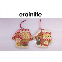 Wholesale Restaurant Christmas Decoration Accessories Hang Painting House from china suppliers