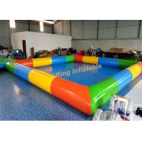 Wholesale 0.65mm PVC Tarpaulin Inflatable Swimming Pools For Kids And Adults Outdoor Use from china suppliers