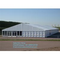 Wholesale 1000 People Big Wedding Tents For High End Wedding Party , Large Event Tents from china suppliers