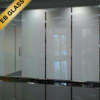 Buy cheap privacy glass PDLC film  ,Smart film manufacturer,switchable film EB GLASS BRAND from wholesalers
