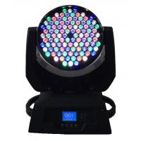 Buy cheap Dmx 108 X 3W LED Moving Head Light  / Stage Wash Lighting High Power from wholesalers