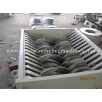 Wholesale Plastic Shredding Equipment Double Shaft Shredder For Crushing Thick from china suppliers