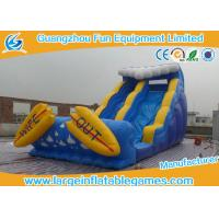 Wholesale CE Certificate Commercial Inflatable Slide With Small Pool / Pool Slide from china suppliers