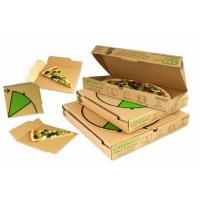 Wholesale Recycled Custom Cardboard Boxes For Food / Sandwich Packaging from china suppliers