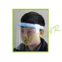 Wholesale Anti Fog Transparent Face Shield , Optically Clear Dust Mask no Distortion from china suppliers