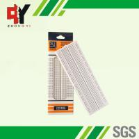 Wholesale Self Adhesive Electronic Bread Board , Full Size Solder Breadboard 830 Tie Points from china suppliers