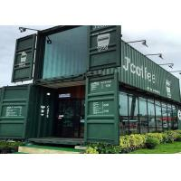 Wholesale Modular Shipping Container Restaurant Prefabricated Container Coffee Shop Interior Design from china suppliers