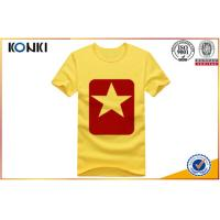 Wholesale Various Colors Customize Your Own Shirt , Simple Design O - Neck T Shirts from china suppliers