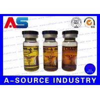 Wholesale 15ml Steroid Bottle Labels , Hologram Printed Personalized Bottle Labels from china suppliers