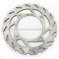 Wholesale Silver Stainless Steel Front  / Rear Brake Rotor With Piercing Holes from china suppliers