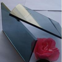 Wholesale Colored Flat reflective window glass , energy saving reflective bronze glass from china suppliers